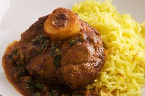 Ossobuco with Risotto alls millines
