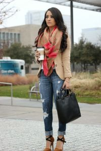 Fall fashion camel jacket