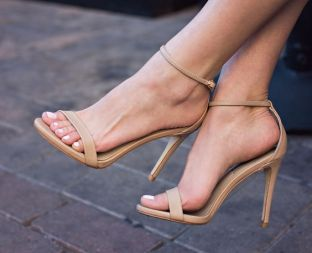strappy heels